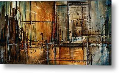 Abstract Design 76 Metal Print by Michael Lang
