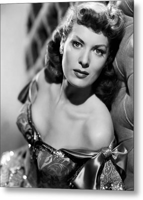 Against All Flags, Maureen Ohara, 1952 Metal Print by Everett