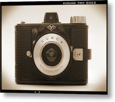 Agfa Clack Camera Metal Print by Mike McGlothlen