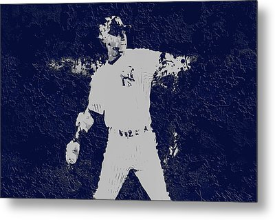 Alex Rodriguez 3a Metal Print by Brian Reaves
