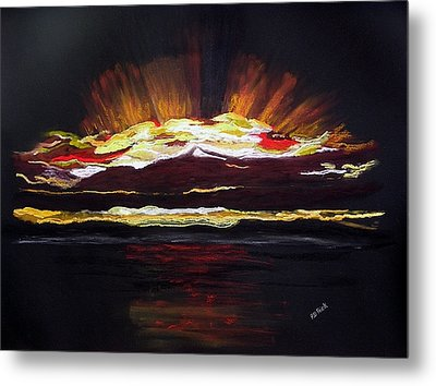Almost Sunrise Metal Print by Diane Frick