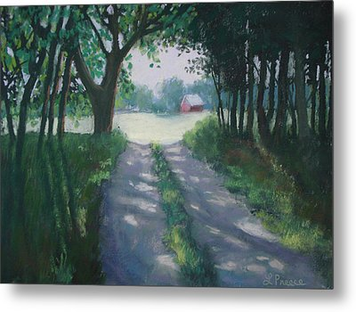 Along Kelderhouse Road Metal Print by Linda Preece