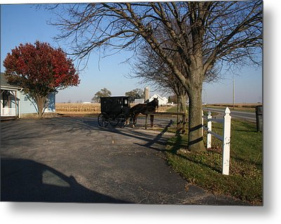 Amish 4 Metal Print by Eric Irion