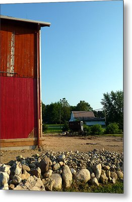 Amish Country Metal Print by Robert Babler