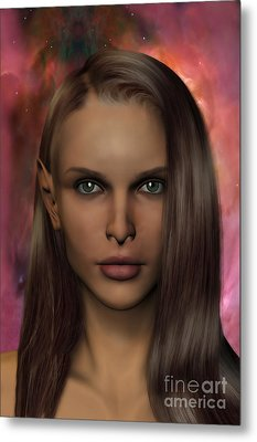 Anaire Child Of Iluvatar Metal Print by John Edwards