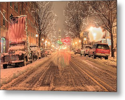 Angelic Snow Metal Print by JC Findley