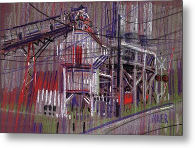 Another Hopper Metal Print by Donald Maier