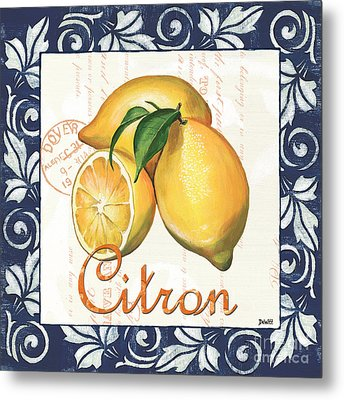 Azure Lemon 2 Metal Print by Debbie DeWitt