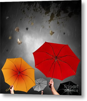 Bad Weather Metal Print by Carlos Caetano