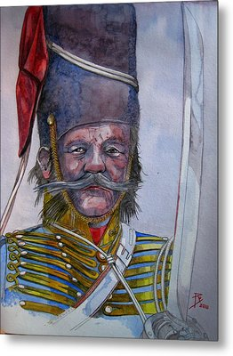 Balaklava Metal Print by Ray Agius