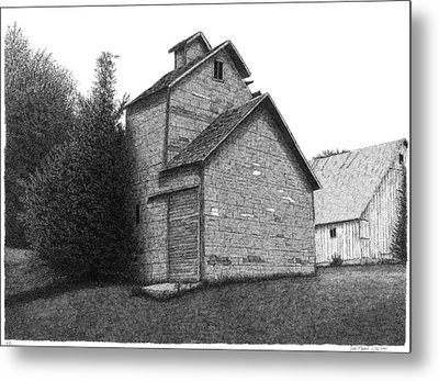Barn 18 Metal Print by Joel Lueck