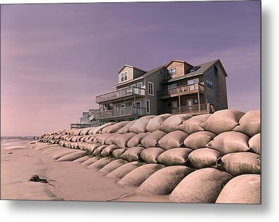 Barrier Island Migration  Metal Print by Betsy C Knapp