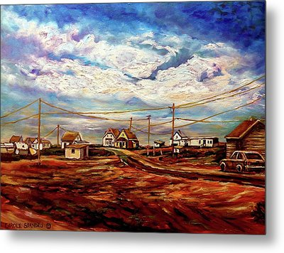 Beautiful Prince Edward Island Maritime Canada Metal Print by Carole Spandau