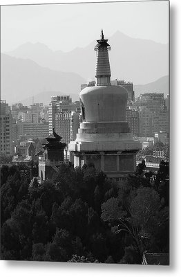 Beijing City 3 Metal Print by Xueling Zou