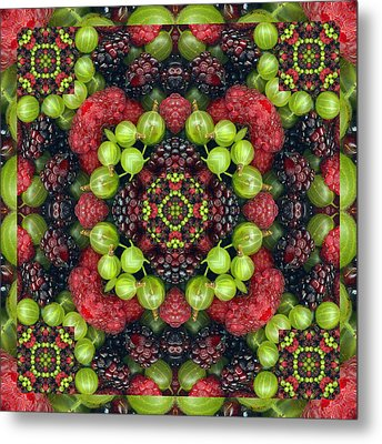 Berry Good Metal Print by Bell And Todd