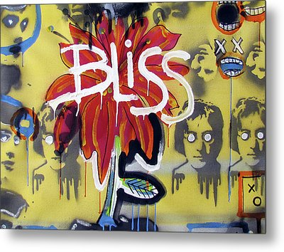 Bliss Is The Word Metal Print by Robert Wolverton Jr