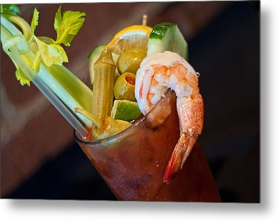 Bloody Mary Metal Print by Rich Leighton