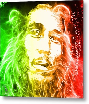 Bob Marley Metal Print by The DigArtisT