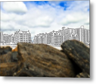 Brighton Beach Metal Print by Svetlana Sewell