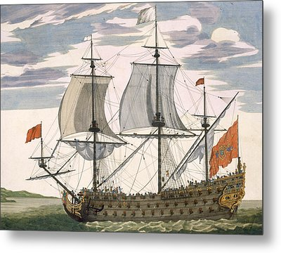 British Navy Metal Print by Pierre Mortier
