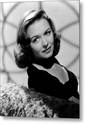 Calling Dr. Gillespie, Donna Reed, 1942 Metal Print by Everett