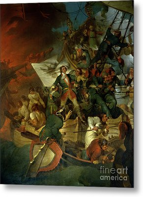 Capture Of Azov Metal Print by Sir Robert Kerr Porter