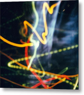 Chicago Lights 2 Metal Print by JC Armbruster