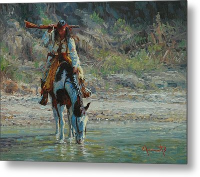 Chiracahua Metal Print by Jim Clements