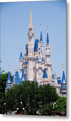 Cindrella's Castle Metal Print by Thea Wolff