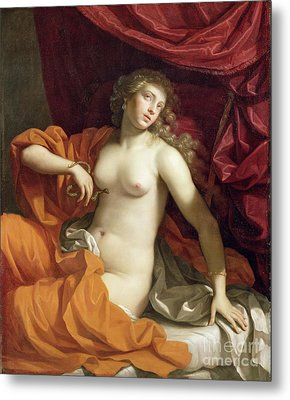 Cleopatra Metal Print by Benedetto the Younger Gennari