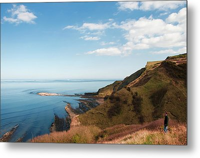 Cliff Side Metal Print by Svetlana Sewell