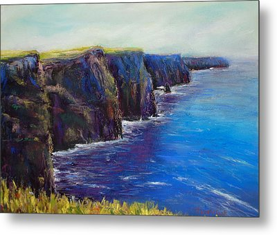 Cliffs Of Moher Metal Print by Joyce A Guariglia