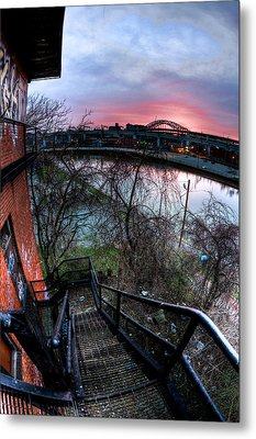 Colorful Cleveland Metal Print by Joshua Ball