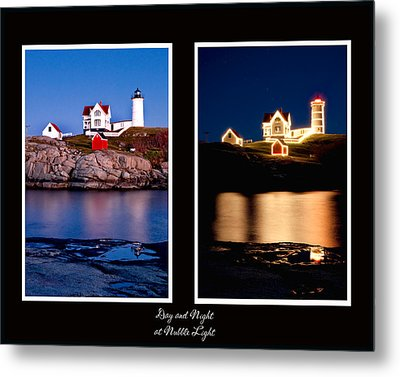 Combined Nubble Metal Print by Greg Fortier