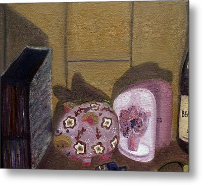 Complementary Still Life Metal Print by Hannah Curran