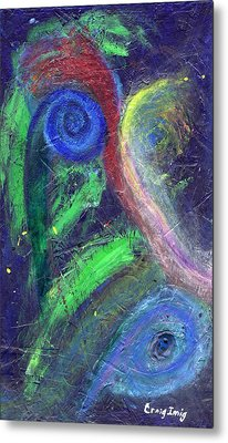 Cosmic Activity # 7 Metal Print by Craig Imig
