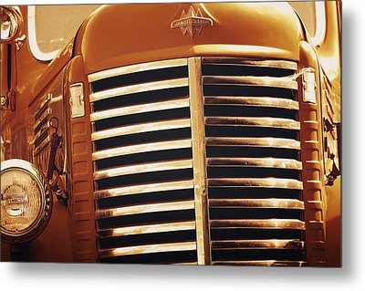 Curbside Classic Metal Print by Christine Till
