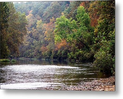 Current River 1 Metal Print by Marty Koch
