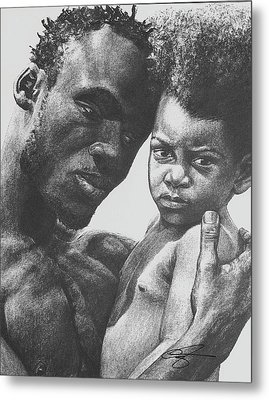 Daddy's Home Metal Print by Curtis James