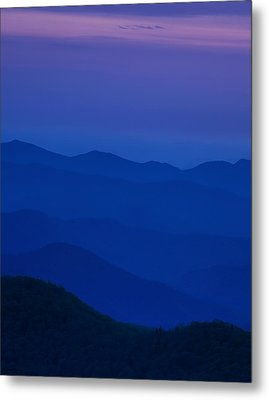 Day's End At The Blue Ridge Metal Print by Andrew Soundarajan