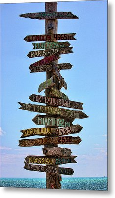 Decisions Metal Print by Joetta West
