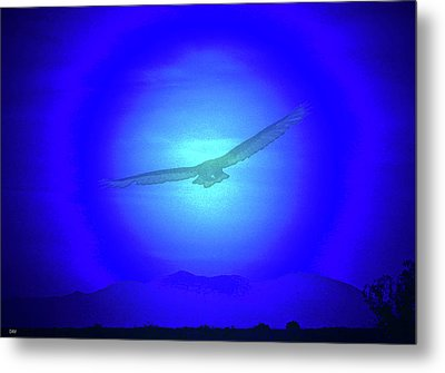 Desert Nights Metal Print by Debra     Vatalaro
