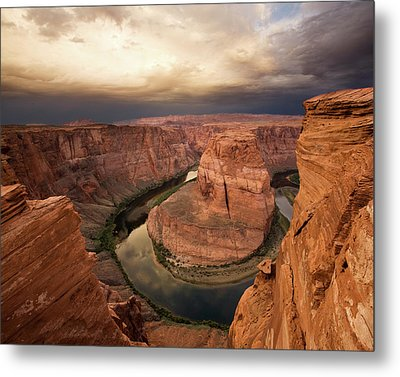 Desert Sunrise At Horseshoe Bend Metal Print by Matt Tilghman