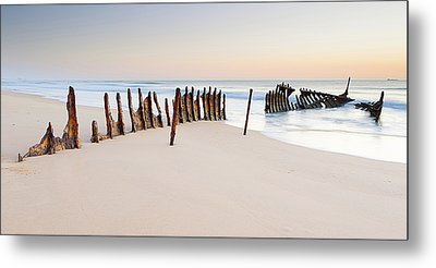 Dicky Beach Metal Print by Visual Clarity Photography