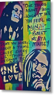 Don't You Worry Metal Print by Tony B Conscious