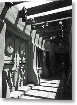 Doors And Shadows Metal Print by Allan McConnell