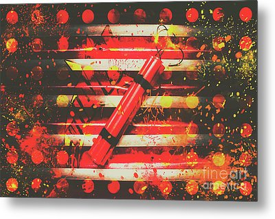 Dynamite Artwork Metal Print by Jorgo Photography - Wall Art Gallery