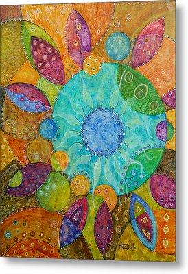 Effervescent Metal Print by Tanielle Childers