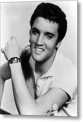 Elvis Presley, Ca. 1950s Metal Print by Everett