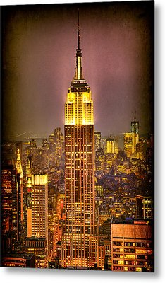 Empire Light Metal Print by Chris Lord